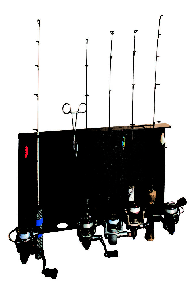 catch cover ice rod rack